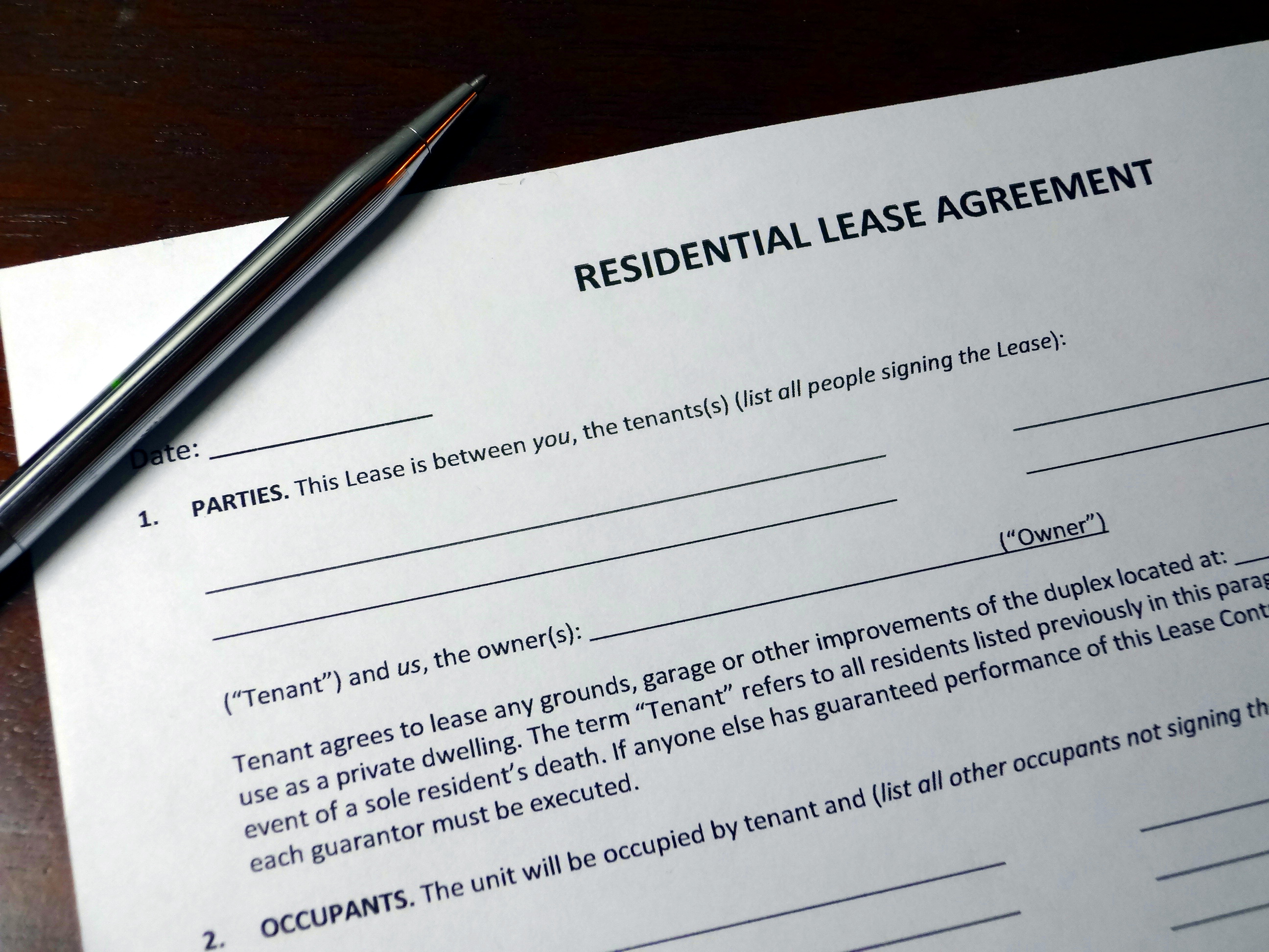 Residential Lease Agreement 101 Common Issues That May Occur And
